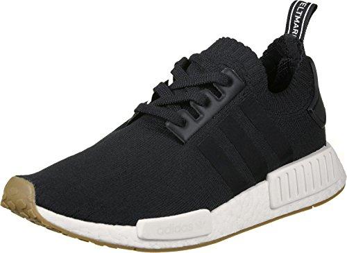 adidas Herren NMD_R1 Primeknit BY1887 Sneaker, Mehrfarbig (Black 001), 42 2/3 EU