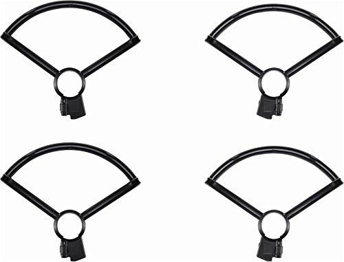DJI Spark Propellerschutz, Schützt vor den Propellern, Sicherer Flug, schützt vor Personen und Objekte, Klein, Leicht und einfach zu Montieren, schwarz