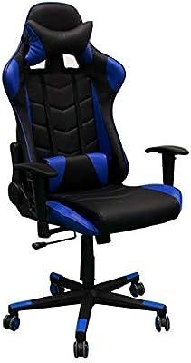 Regalos Miguel - Sillas Gaming - Silla DXR - Azul - Envío Desde España: Amazon.es: Hogar