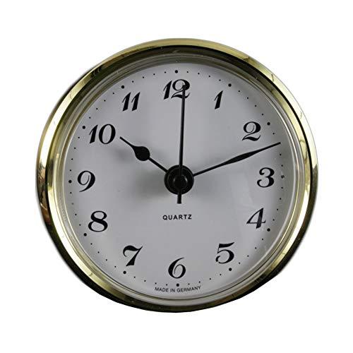 Cloxinelle Uhrwerk   Einsteckuhrwerk   Einbau-Uhr   Modellbau-Uhr   Quartz Uhrwerk   Ø 66 mm   Nr.8078