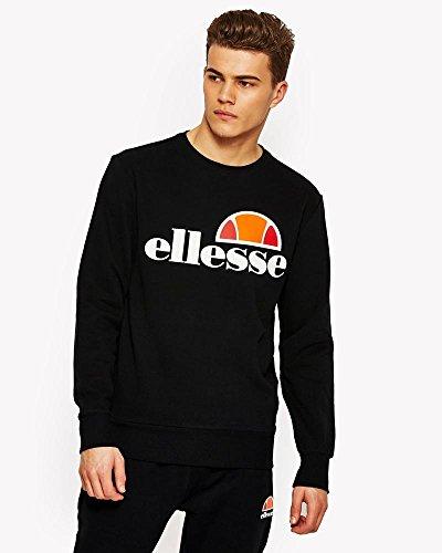 ellesse Succiso Sweatshirt/Pullover, für Herren M Grau (Anthrazit)