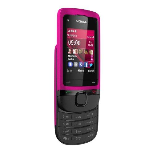 """Nokia C2-05 - Móvil libre (pantalla de 2"""", 16 MB de capacidad, S.O. Symbian) color rosa"""