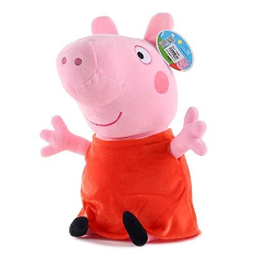 siqiwl Peluche de Peppa Pig George Familia Juguetes de peluche Muñeco de Pepa Pig Decoraciones para Fiesta Llavero Niños Juguetes Regalo de Navidad
