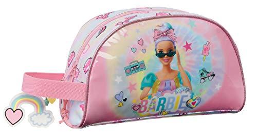 safta 812110824 Neceser Grande de Barbie Girl Power, 260x160x90mm