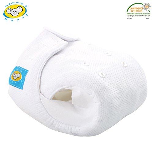 Mommy Mouse - Pannolino taglia XL, in cotone biologico, con chiusura in velcro