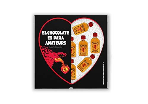 Fireball Cinnamon Whisky - Pack De San Valentin 10 Unidades De 50ml