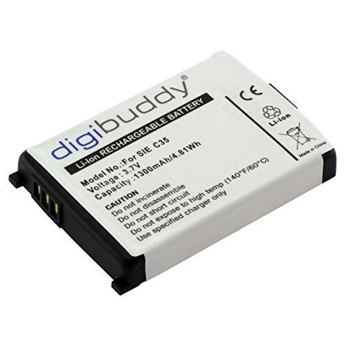 digibuddy Akku kompatibel zu Siemens C35 Li-Ion