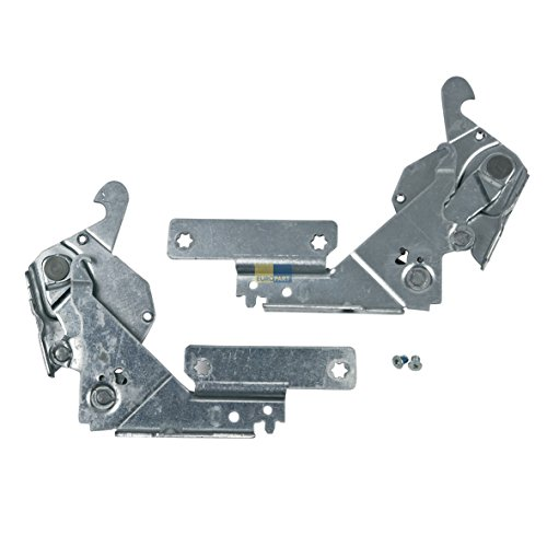 Bauknecht 481231018966 ORIGINAL Türscharnier Scharnier rechts links Set Spülmaschine Geschirrspüler Indesit Hotpoint C00327344