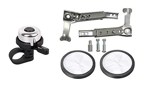 GGCG Ruedas de Entrenamiento de Bicicleta sólidas estabilizadoras y estabilizadoras reforzadas de Servicio Pesado Estable