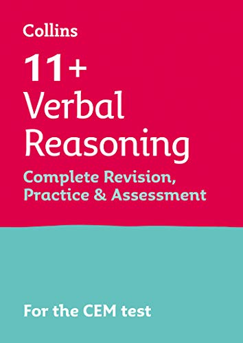 Collins 11+ – 11+ Verbal Reasoning Complete Revision, Practice and Assessment for...