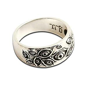 Beydodo Silber 925 Ring für Herren Multi Augen Gothic Freundschaftsringe Ringe Männer Silber