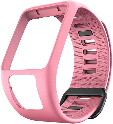 Axcellent Compatible con Spark 3 Bandas de Reloj Reemplazo de Correas de Reloj de Silicona para Tomtom Runner 2 3,Spark 3, Golfer 2,Adventurer Smartwatches