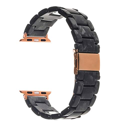 MARKOO Correa De Resina para Iwatch Band 42Mm 38Mm 44Mm 40Mm para Apple Watch Band 6 5 4 3 2 1 Accesorios Pulsera Cinturón para Maratón