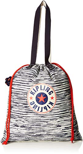 Kipling - New Hiphurray, Bolsos totes Mujer, Multicolor (Scribble L Bl)