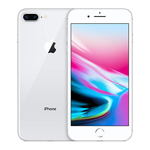 Apple iPhone 8, 256GB, Silver - Fully Unlocked (Renewed)