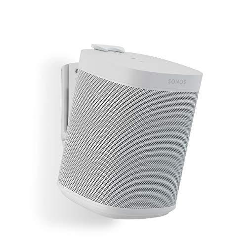 Flexson Wandhalterung (geeignet für Sonos One, One SL und Play:1 - Single) weiß