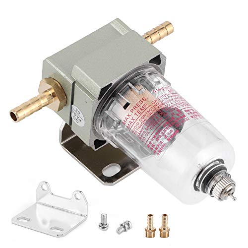 Filtro separador de aceite y agua, combustible duradero, filtro separador de agua, filtro de aire comprimido, accesorio universal para coche(8mm / 0.31in)