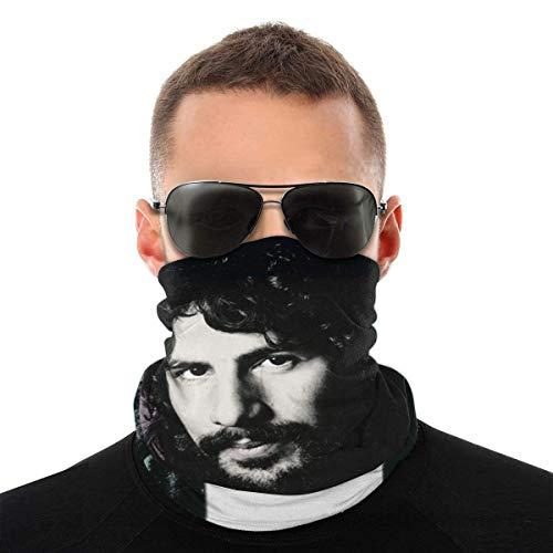 Shichangwei Cat Stevens Seamless Bandana Face Scarf Neck Gaiter Rave Headwear Tube Dust Face Headband Balaclava For Men Women