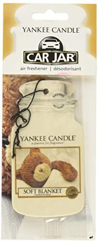 Yankee Candle, deodorante per auto a forma di barattolo e al profumo  Soft blanket