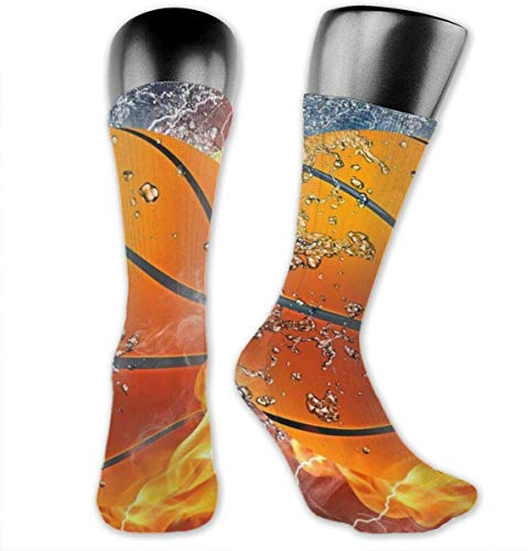 Basketball Never Stops Compression Socks Athletic Socks for Women & Men-Best Medical, Nursing, Running, Flight Travel, Pregnant