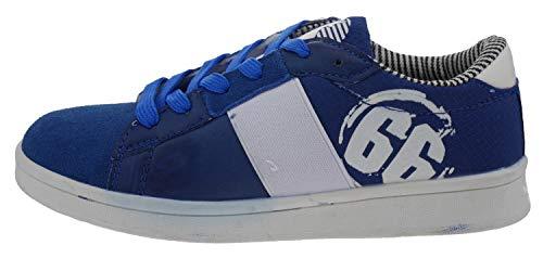 Canguro C56206 Baskets pour garçon - Bleu - Bleu Roi, 35 EU