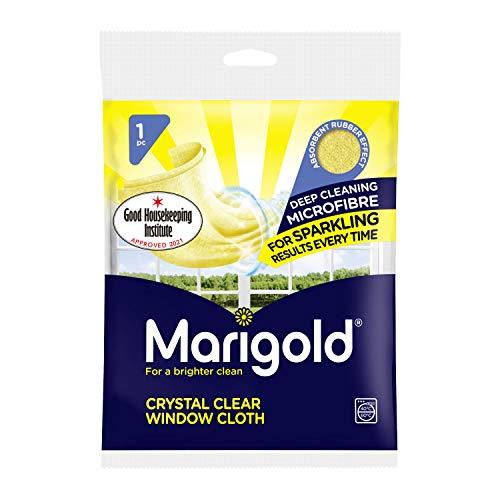 MARIGOLD Crystal Clear - Paño para Ventana, 20 Unidades