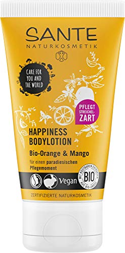 SANTE NATURKOSMETIK Happiness Bodylotion Bio-Orange & Mango, 50ml