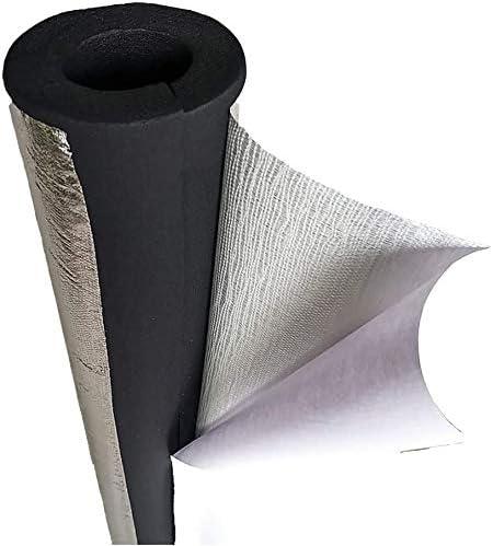 TZSMWG Self-adhesive Aluminum Foil Max 56% OFF Insulation Tube Cheap P 3pcs Black