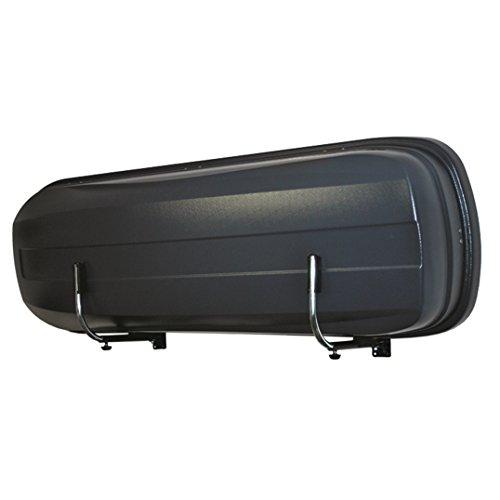 LANCO Automotive Wandhalter Space Pro , LI-1301 , Zwei Stück Stabile Ausführung , Einfache Montage , Platzsparend Einklappbar , Made in EU, Chrom/Schwarz, Set of 2