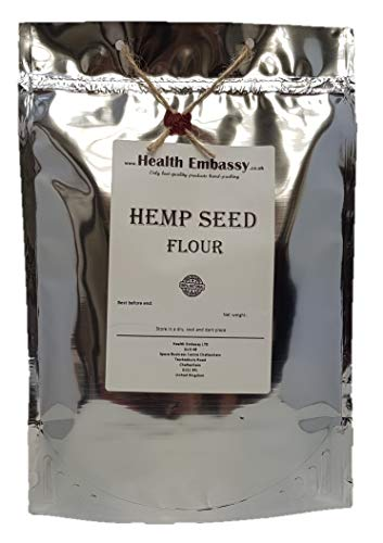 Health Embassy Farina di Canapa (Cannabis sativa) / Hemp Seed Flour, 450g