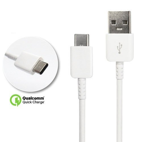 Authentic Galaxy Tab S3 USB to Type-C Charging and Transfer Cable. (White / 3.3Ft)