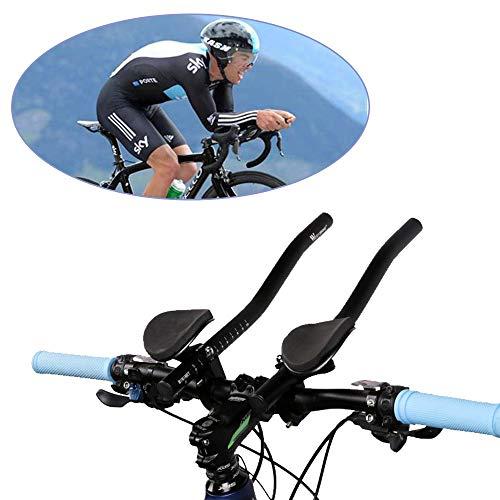 WING Lenker-Armlehne Fahrrad Ruhe Lenkeraufsatz Aero Lenker Triathlon Lenker für Rennräder und Mountainbike Fahrrad Radfahren