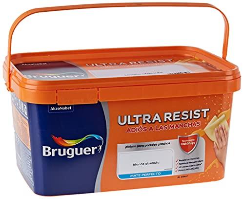 Bruguer ULTRA RESIST Pintura para paredes ultra lavable Blanco Absoluto 4L