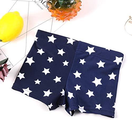 YIXING Children Swimming Trunks Adjustable Star Style Swimsuit for Kids Boys New Boys Swim Trunks Beachwear (Color : Blue, Size : 98 104cm)