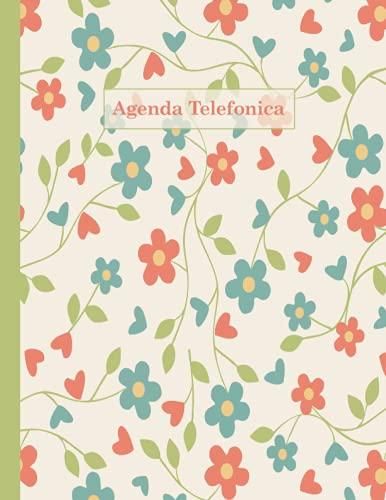 Agenda Telefónica: Índice alfabético A-Z | Tamaño A4, agenda práctica | 312 entradas | Libreta de direcciones | letra grande