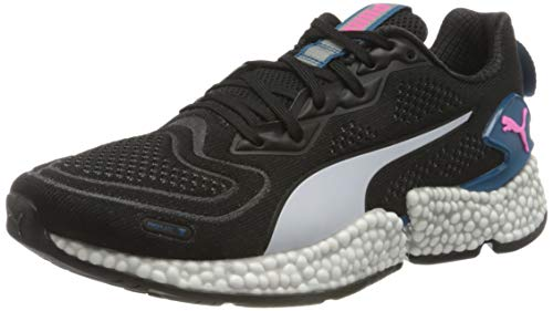 PUMA Speed ORBITER WNS, Zapatillas para Correr de Carretera Mujer, Negro Black/Digi/Blue White/Luminous Pink, 42.5 EU