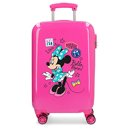 Enjoy Minnie Hardside Carry-On Suitcase Hello