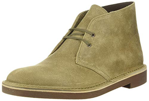 Clarks Men's Bushacre 2 Chukka Boot, Taupe Distressed Suede, 095 M US