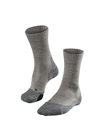FALKE Damen, Wandersocken TK2 Wool Merinowollmischung, 1 er Pack, Beige (Kitt Mouline 4310), 39-40