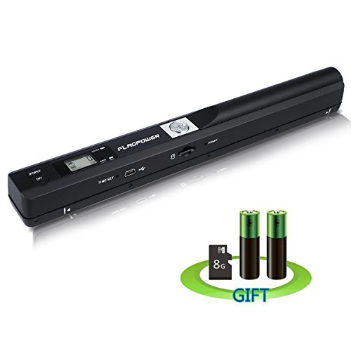 Mini Scanner de Poche FLAGPOWER 900 DPI Haute...