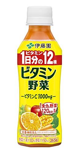 伊藤園 ビタミン野菜 265g ×24本