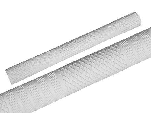 Cricket Bat Rubber Grips Non Slip Replacement Handle Grip Professional Design White