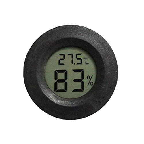 Yihaifu Higrómetro Digital de la Temperatura del termómetro del LCD Temperatura Humedad Medidor Digital medidor de Humedad del Reptil Gauge