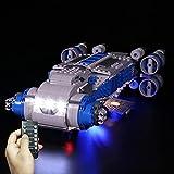 Onenineten Set de iluminación LED para Lego Star Wars resistencia I-TS Transport, compatible con Lego 75293