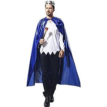 Matissa Disfraz de Cabo y Corona para Adultos y Niños Rey Reina ...