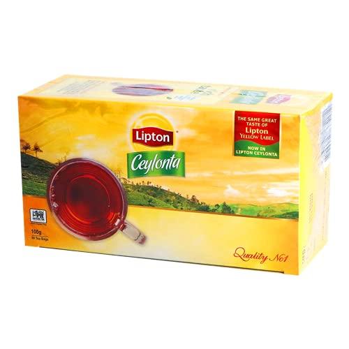 Lipton Ceylonta 100g - 50 Tea Bags - Same Great Taste of Lipton Yellow Label - Now in Lipton Ceylonta !!