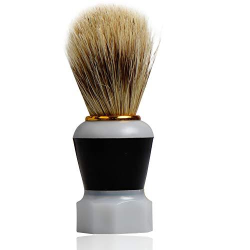 Titania Blaireau de rasage en poils Pure, sur carte blister, 1er Pack (1 x 31 g)