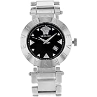 Versace Quartz Black Dial Ladies Watch
