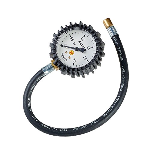 Hofmann Power Weight Inflador de neumáticos para Turismo 1870 Aliseo con manómetro analógico neumático   Medidor de presion de neumáticos
