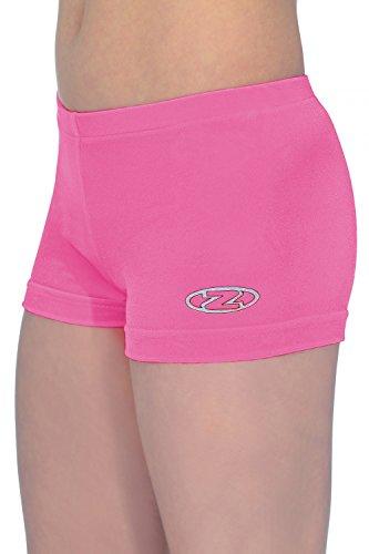 The Zone Hipster - Pantalones Cortos de Gimnasia (32), Color Rosa